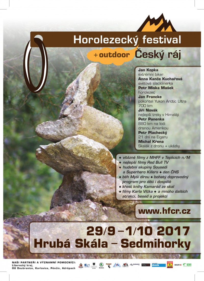 Horolezecký festival Český ráj 2017