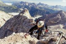 Draze vykoupené via ferraty v Dolomitech