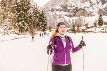 Na běžkách ve Švýcarsku