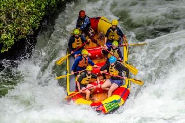 Největší komerčně raftovaný vodopád světa: NZ
