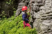 S dětmi do skal do Ostrova u Tisé