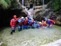 Freiengrabenbach: Canyoning pro začátečníky