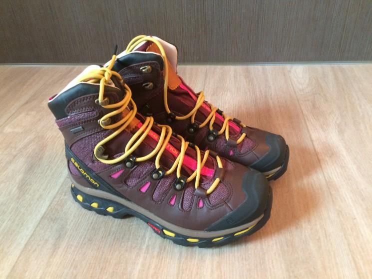 7a41a825e47 Dámské trekové boty Salamon