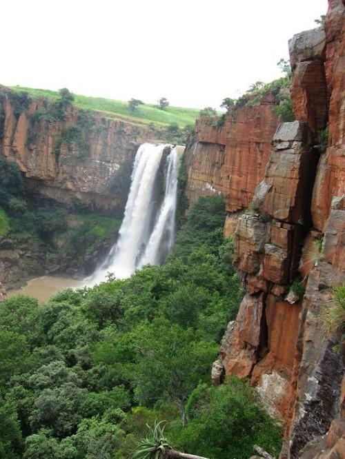 Waterfall Boven: Nejznámější lezecká oblast v Jižní Africe