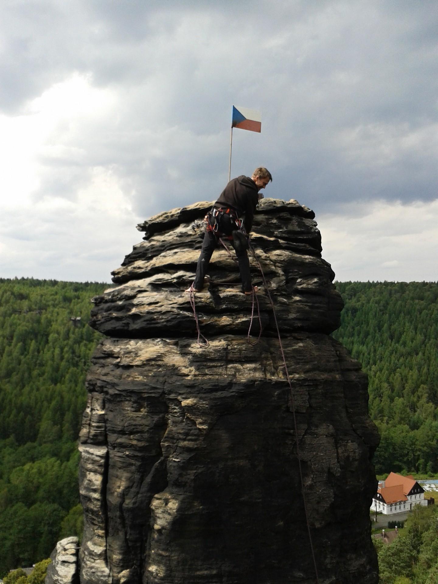 Věž Císař s německým kolegou