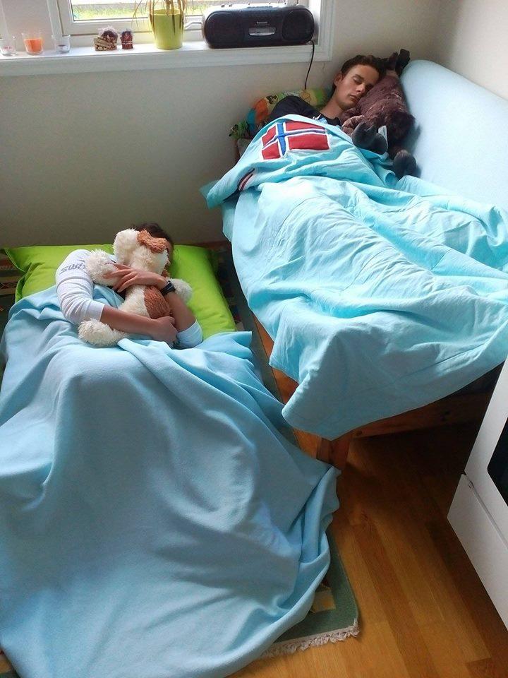 Spánek je nejlepší relaxační metoda<br>Foto: Jakub Opočenský