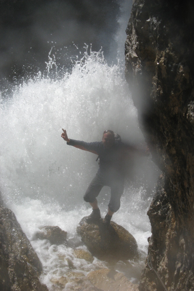 Vodopády u Col Rosy