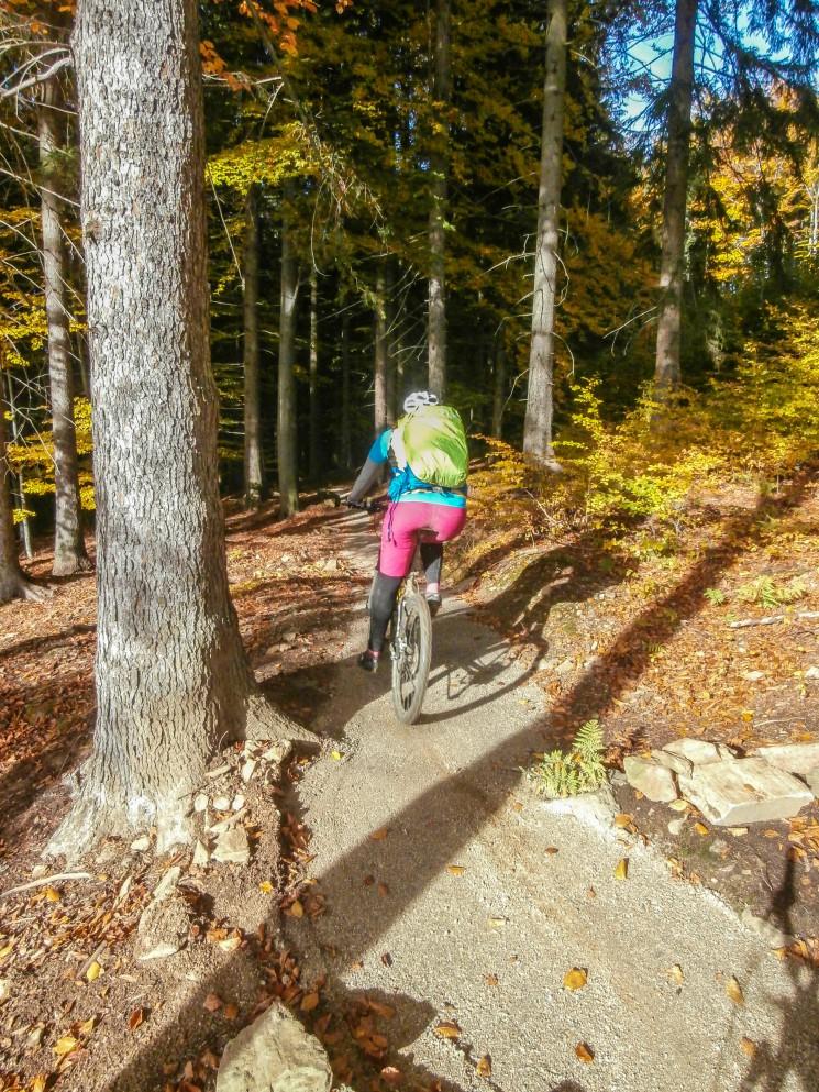 Nově vyspravený trail Libverdská strana, foto ms