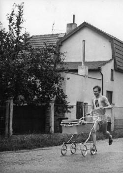 Zbyněk Fiala během závodu, Foto: archiv Zbyňka Fialy