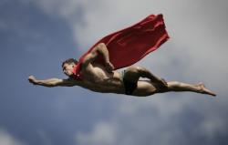 Superman, Antálie, Turecko, 2009.