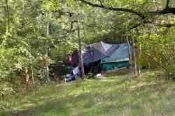 Tábořiště bezdomovců