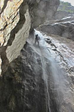 25m vodopád