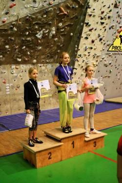 Stupně vítězů holky r. 2003-2005, foto: J. Mikolášek