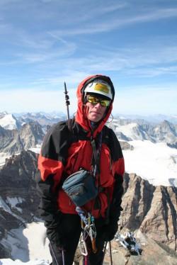 Lezení ve Švýcarských Alpách