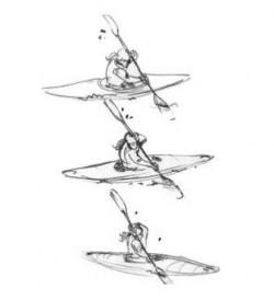 Přitažení špičky lodi<br>Kreslil Broňa Kračmar