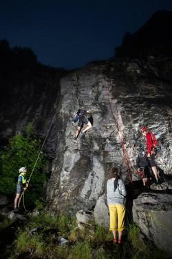 Lezení: Rychlejší si užili noční lezení