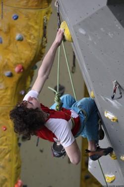Adam Ondra testuje obtížnost