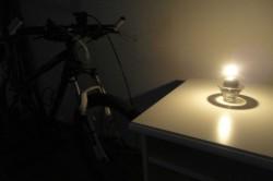 Jízda při svíčkách
