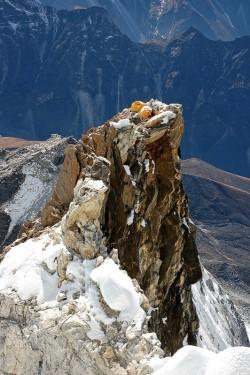 Orlí hnízdo - 2. výškový tábor na Ama Dablam, Himálaj