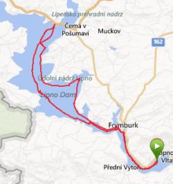 4 hodiny bruslení, 46 km