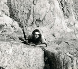 Studničkovu cestu jsem si vylezla s K. Róthovou, 1985