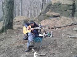 Zábava ve skalách