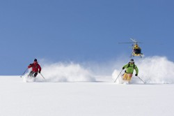 Heliskiing ve Švédsku, foto: Arctic Elements