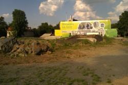 Bikepark Štvanice. Foto: OVP
